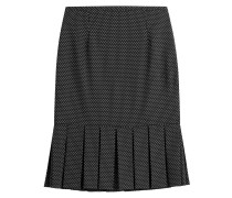 Flared-Skirt mit Polka-Dots