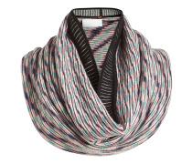 Gemusterter Loop-Schal aus Wolle