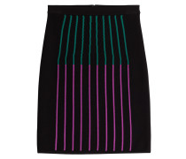 Pencil-Skirt mit Wolle