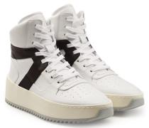 High Top Sneakers Basketball aus Leder