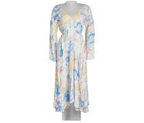 Bedrucktes Kleid mit Baumwolle