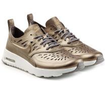 Beschichtete Leder-Sneakers Air Max