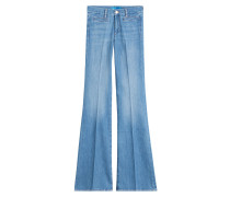 Flared-Jeans Marrakesh aus Baumwoll-Stretch