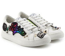 Sneakers aus Baumwolle mit Patches