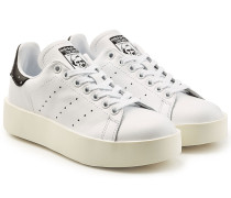 Plateau-Sneakers Stan Smith aus Leder
