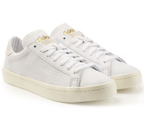 Leder-Sneakers Court Vantage