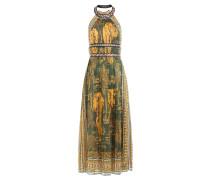 Bodenlanges Neckholder-Kleid