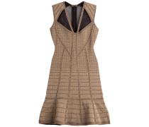 Bandage-Dress im Metallic-Look