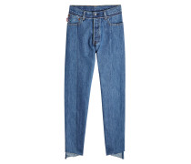 X Levi's Straight Leg Patchwork Jeans