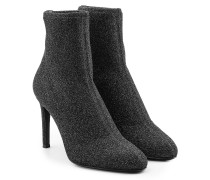 Ankle Boots mit Glitter Finish