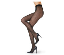Tights mit Rautenmuster