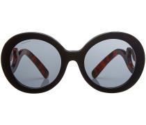 Sonnenbrille mit geschwungenen Bügeln