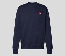 Sweatshirt mit Label-Patch