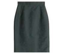 Bestickter Pencil-Skirt mit Seide