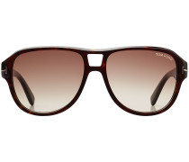Oversize-Sonnenbrille Dylan