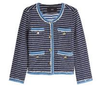 Jacke aus Tweed mit Baumwolle