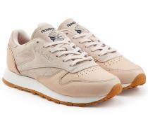 Sneakers Classic Golden aus Veloursleder