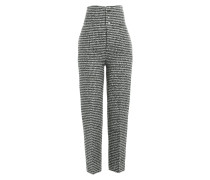 Straight Leg Pants aus Wolle