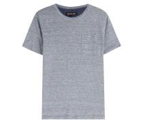 T-Shirt aus Leinen und Baumwolle