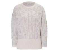 Oversize-Sweater aus Kaschmir und Fleece-Wolle