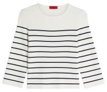 Shirt mit Streifen-Print