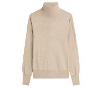 Rollkragen-Pullover mit Wolle und Kaschmir