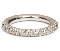 Ring aus 18kt Weißgold mit Diamanten