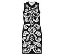 Kleid mit Kontrastmuster