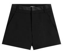 High-Waist-Shorts mit Baumwolle
