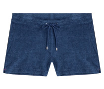 Shorts Carlita aus Baumwoll-Frottee