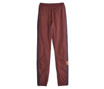 Track Pants mit Stickerei und Zierborten