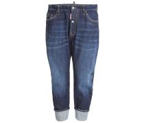 Distressed-Jeans aus Baumwolle
