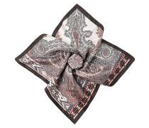 Einstecktuch aus Seide mit Print
