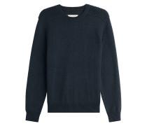 Pullover aus Wolle und Baumwolle