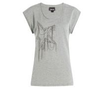 Baumwoll-Shirt mit Décor