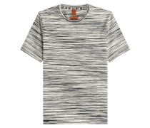 Gemustertes Baumwoll-Shirt