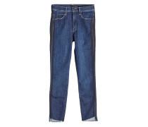 Skinny Jeans Stunner Zip Ankle Step Fray mit Zierborten