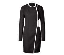 Two-Tone-Dress aus Wolle