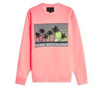 Sweatshirt aus Baumwolle mit Applikation