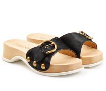 Sandalen mit Kalbsfell