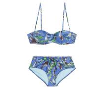 Print-Bikini im Retro-Look