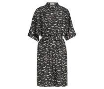 Bedrucktes Blusenkleid aus Seide