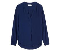 Tunika-Bluse mit asymmetrischem Saum