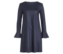 Kleid aus Schurwolle mit Volantärmeln