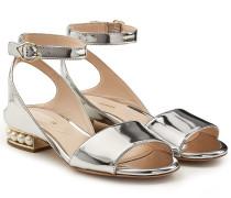 Verzierte Sandalen Lola aus Lackleder