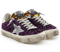 Sneakers May mit Leder
