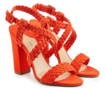 Sandalen aus geflochtenem Leder