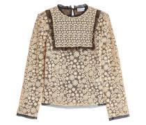 Bluse aus Baumwolle und Spitze