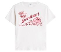 Bedrucktes T-Shirt Sweetheart aus Baumwolle