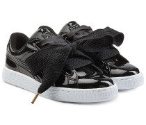 Sneakers Basket Heart mit Schleife